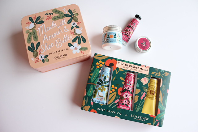 L'Occitane en Provence x Rifle Paper Co. collection review