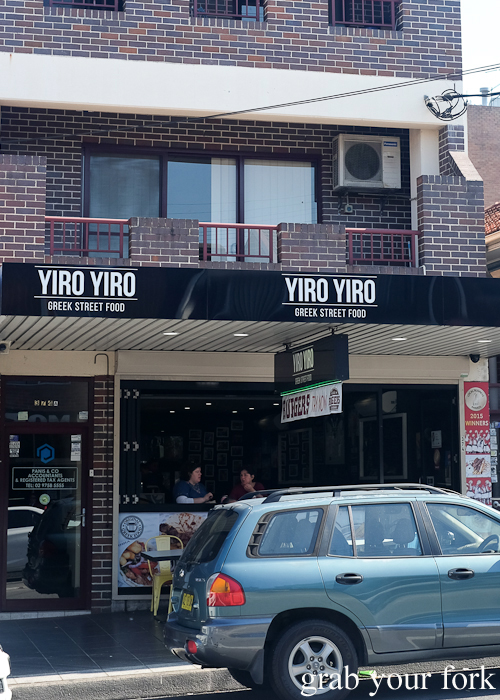 Yiro Yiro Greek kebab shop in Belmore