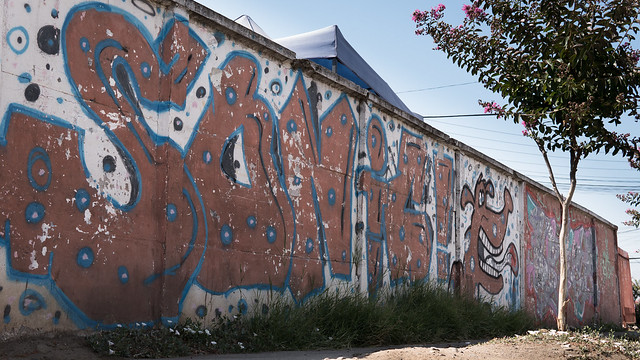 Graffiti in San Vicente