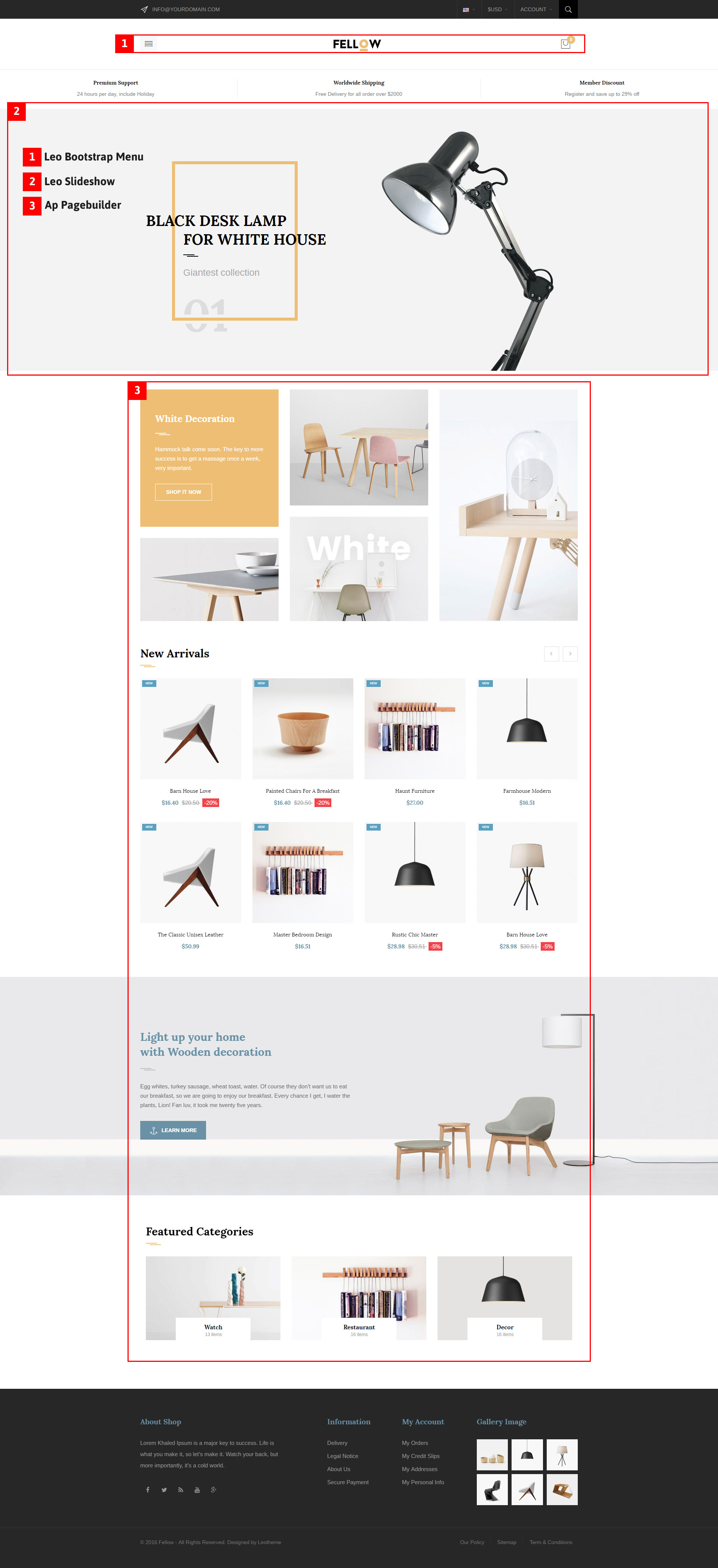 leo fellow prestashop theme