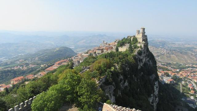 Prima Torre (Rocca oder Guaita) auf dem Monte Titano