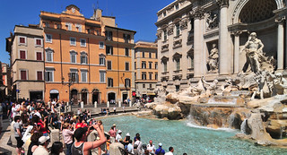 Trevi Fountain & some admirers