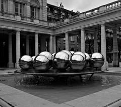 Fontaines de Pol Bury (Sphérades)