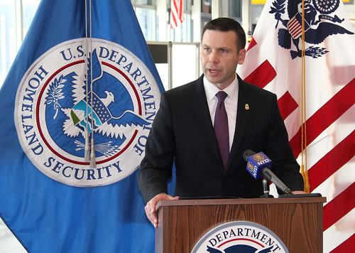 CBP Acting Commissioner Kevin K. McAleenan conducts JFK press conference