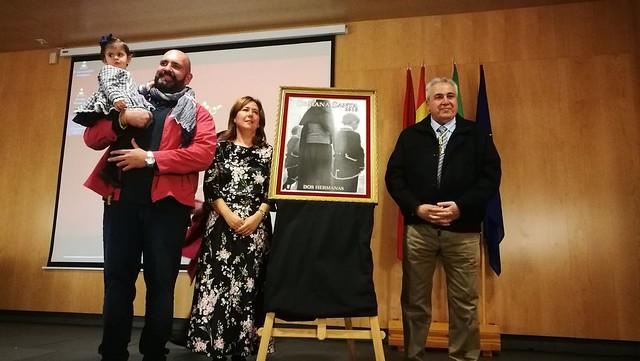 Presentación del cartel anunciador de la Semana Santa de Rafael López Gómez