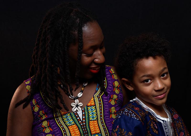 Black History - My Wife & Son