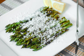 Grilled Asparagus with Lemon and Parmesan