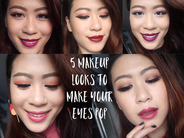 5 Makeup Looks To Make Your Eyes Pop