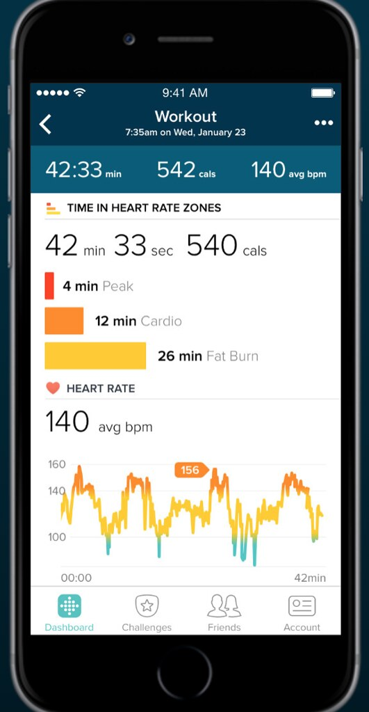 FITBIT-app-workout