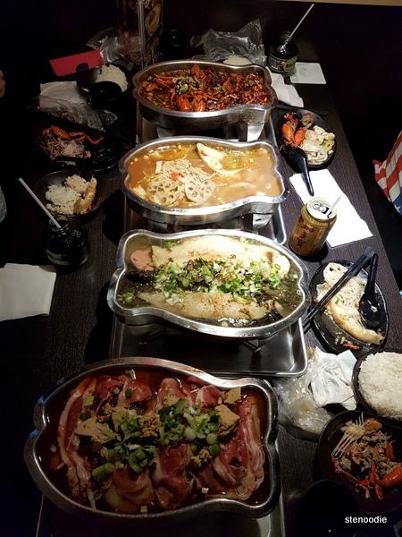 Sichuan Kungfu Fish food