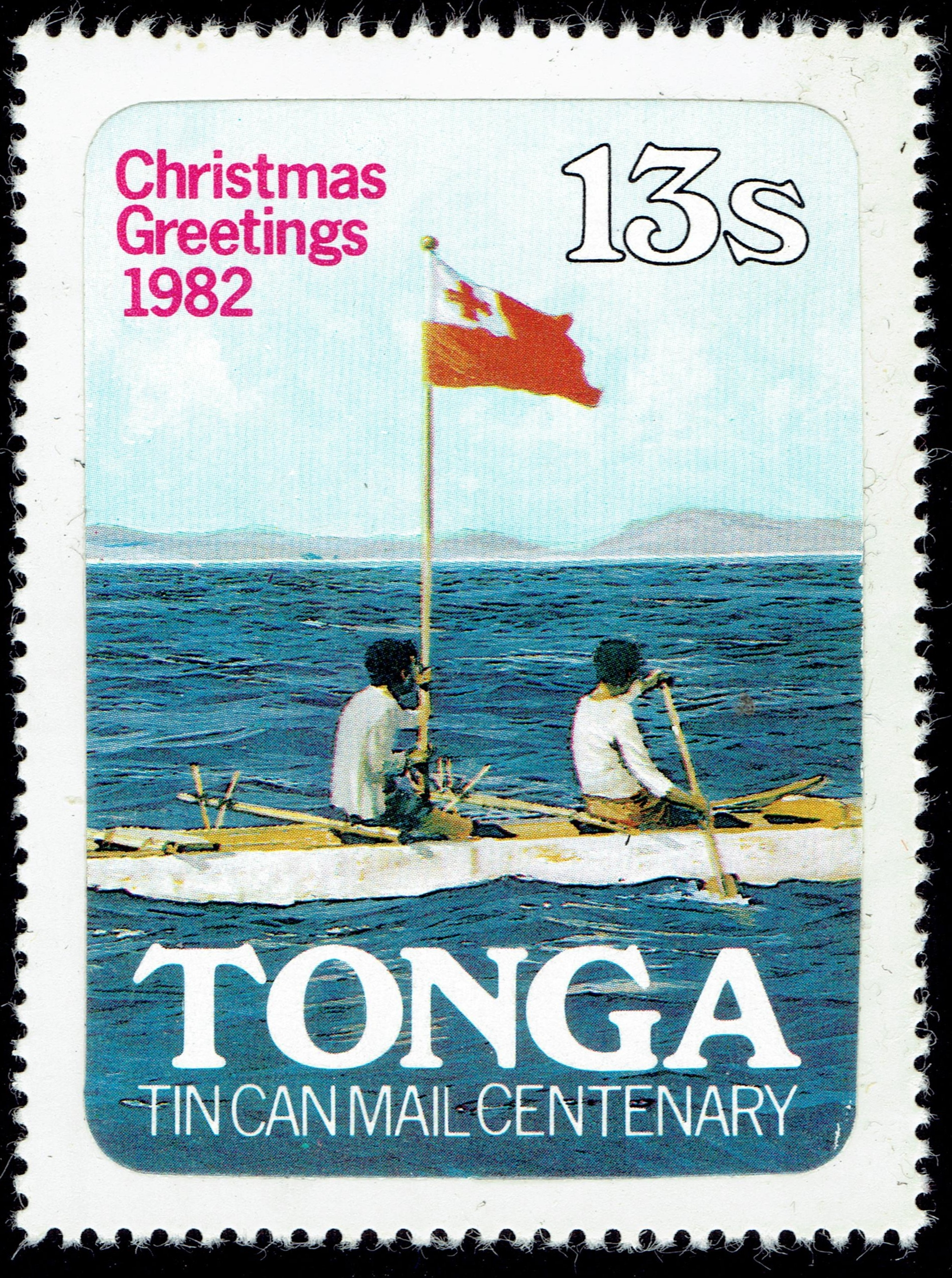 Tonga - Scott #526 (1982)