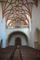 The Holly Cross church in Prejmer