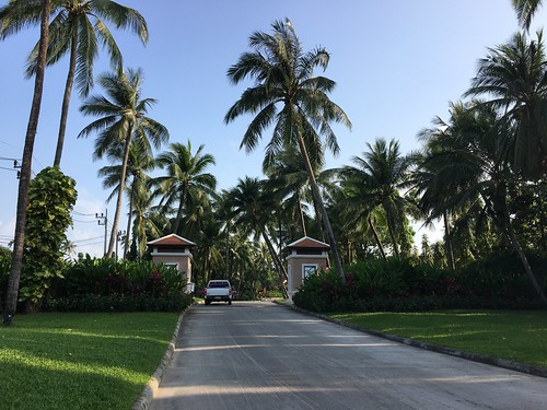 koh samui santiburi resort entrance