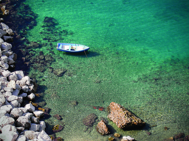 Corricella sea