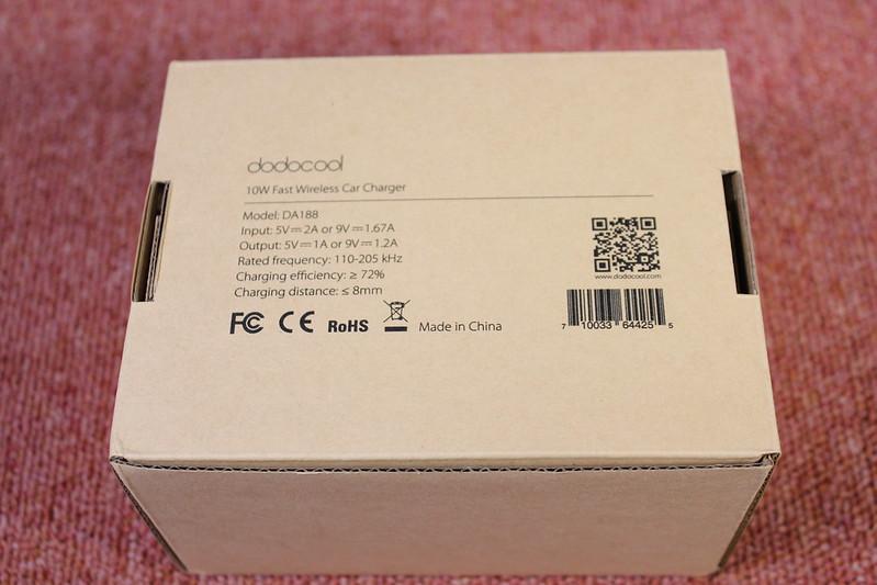 dodocool Qi 充電器車載ホルダー 開封レビュー (3)