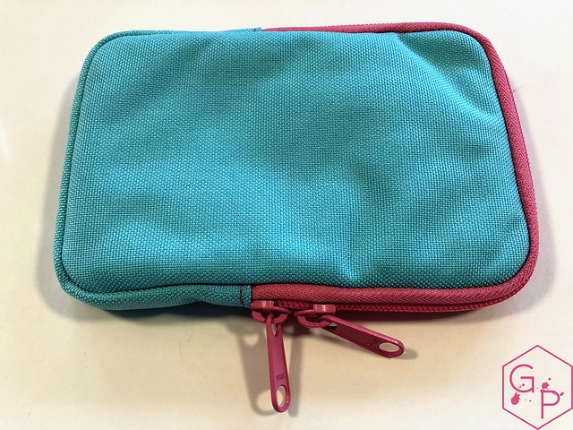 Review @NockCo Sinclair Pen Case - Spa Blue:Lime Green Unicorn Snot @GouletPens @BrianGoulet_ 3