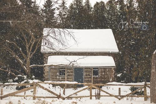 winter winterwonderland winterscene snow ontario snowing landscape house building outdoors canada