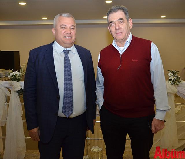 ALTSO Başkanı Mehmet Şahin, Lonicera Resort Hotel sahibi Uğur Sipahioğlu