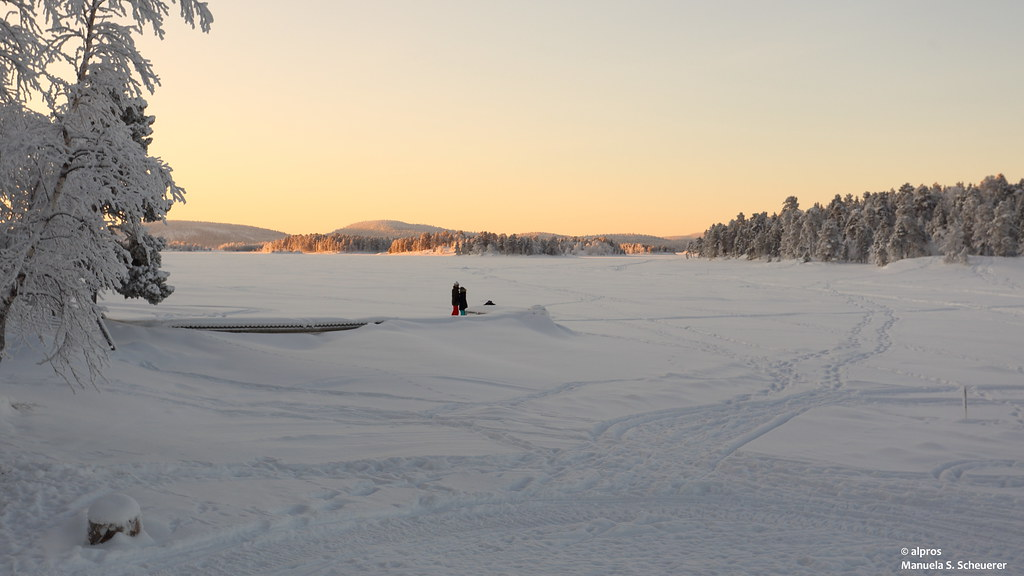 Sunrise Lake Inari