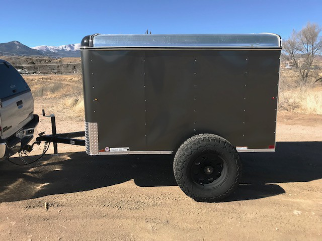 My Offroad 5x8 Cargo Trailer Camper Conversion