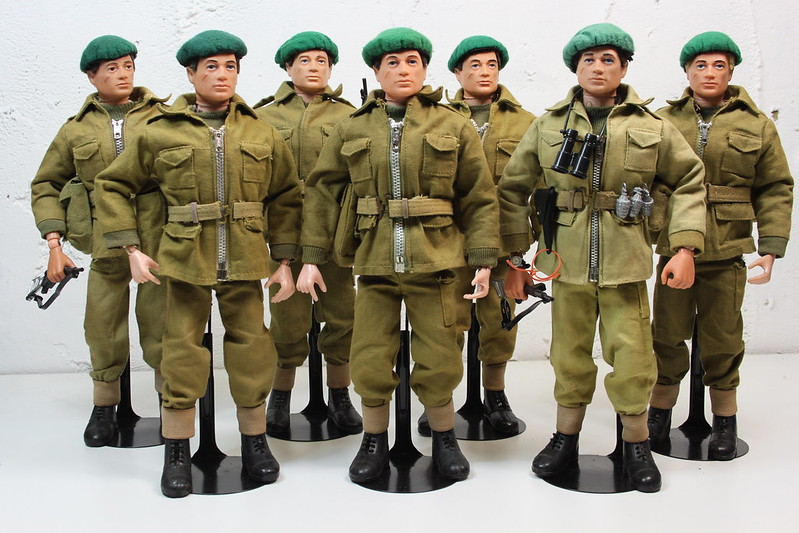 collections of multiple uniforms  26611183678_e54a37d90a_c