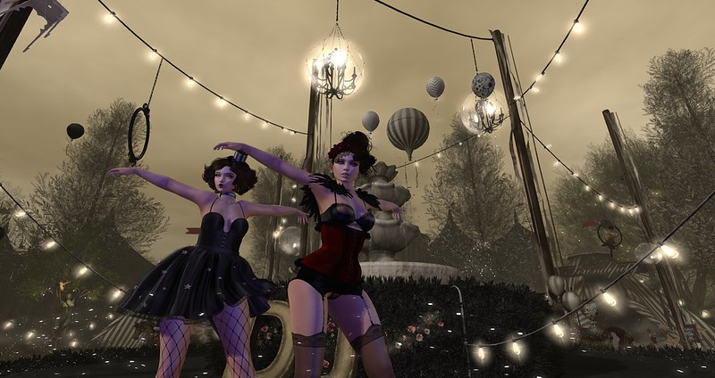 Le Cirque Reves Fire Acres, The Luxe Girls, Elysion