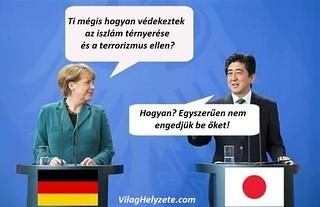 Islam vs. Europe vs Japan