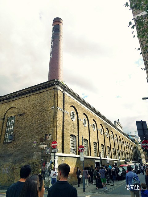 wandeling in Shoreditch