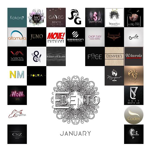 eBENTO January Round Brands
