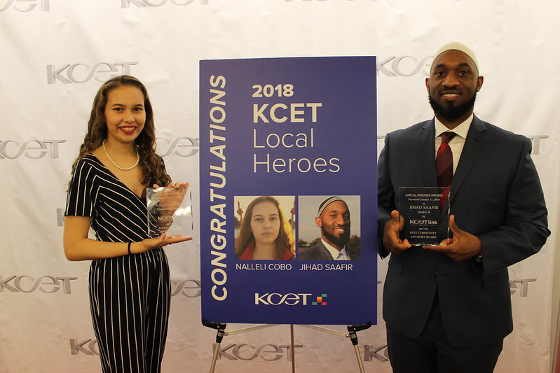 2018 KCET Local Heroes Reception
