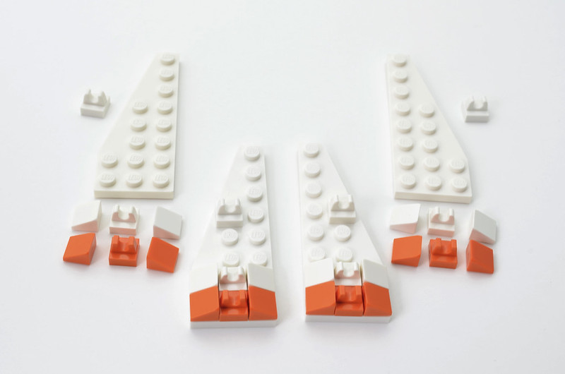 LEGO T-47 Snowspeeder - Micro Speeder Step 5