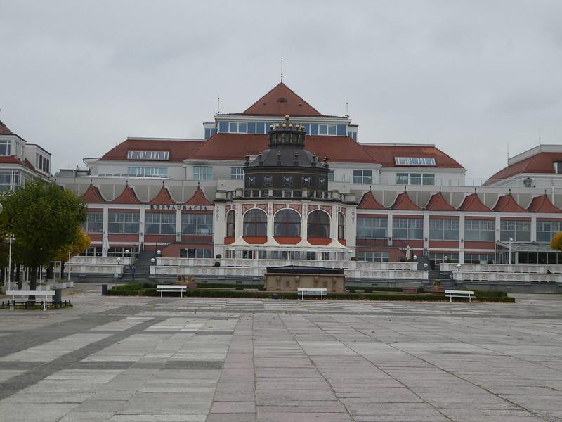 Spa Square and fountain, Sopot
