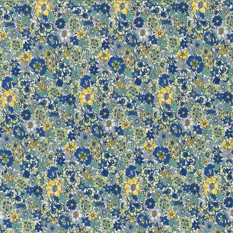藤蔓百花 (大特价) 优雅碎花花园花卉 手工艺diy拼布布料 ca450715