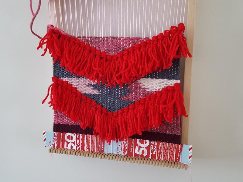 January's tapestry - halfway