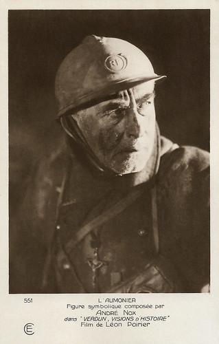 André Nox in Verdun (1928)