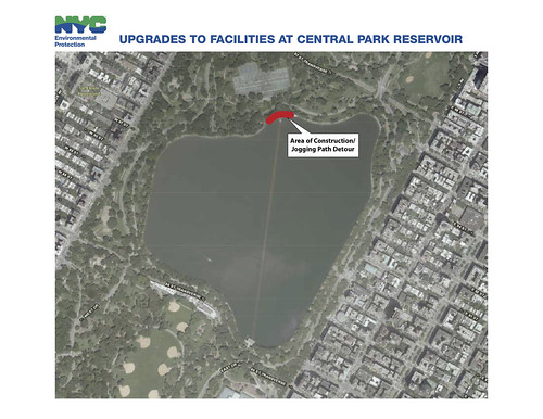 Upgrades to Central Park Reservoir Facilities