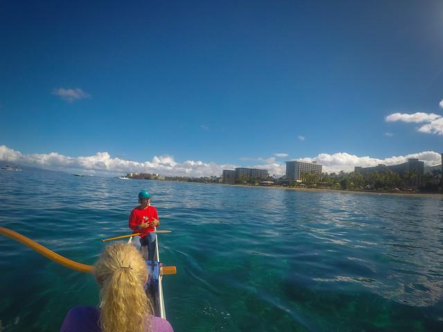 Maui Outrigger Canoe