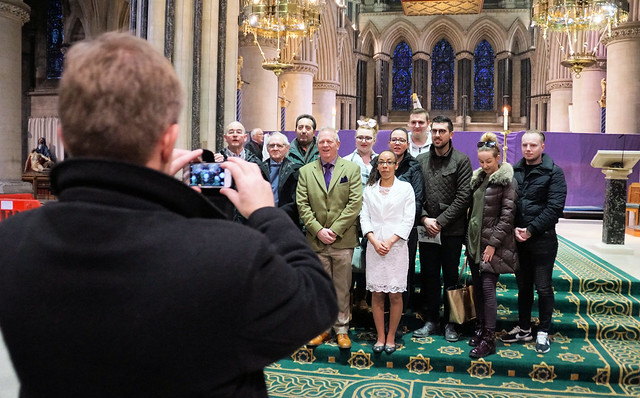 Rite of Election Norwich Feb18