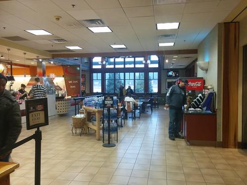 New Baltimore Travel Plaza (7) #newyork #newbaltimore #newbaltimoretravelplaza #restaurant #fastfood #latergram