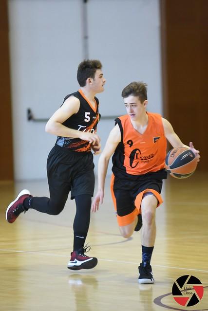 03.03.2018 cadet masculí contra Basquet Berga