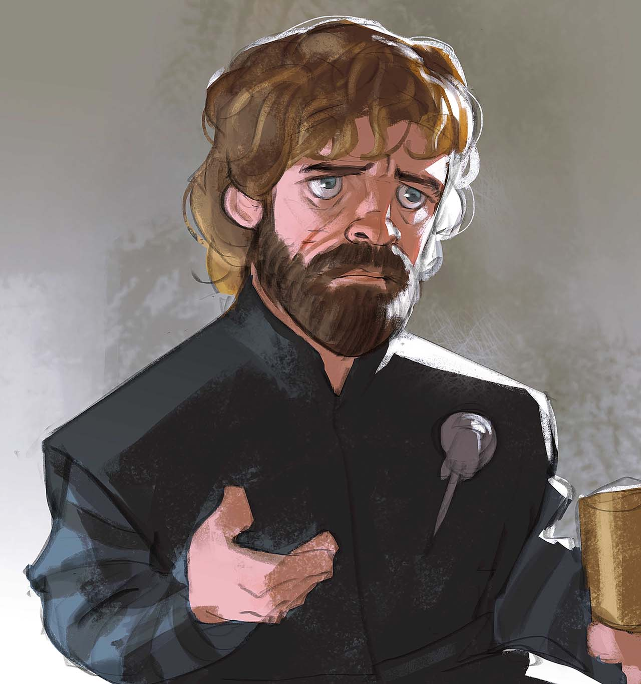 Artist Creates Unique Character Arts From Game Of Thrones – Tyrion Lannister Character Art By Ramón Nuñez