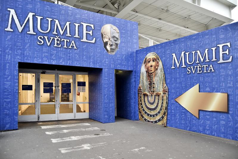 výstava MUMIE SVĚTA
