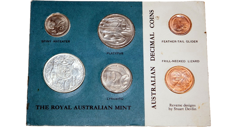 Brand New Air-tite Tube Model A To fit Australian 1966 Round 50 Cent Coins
