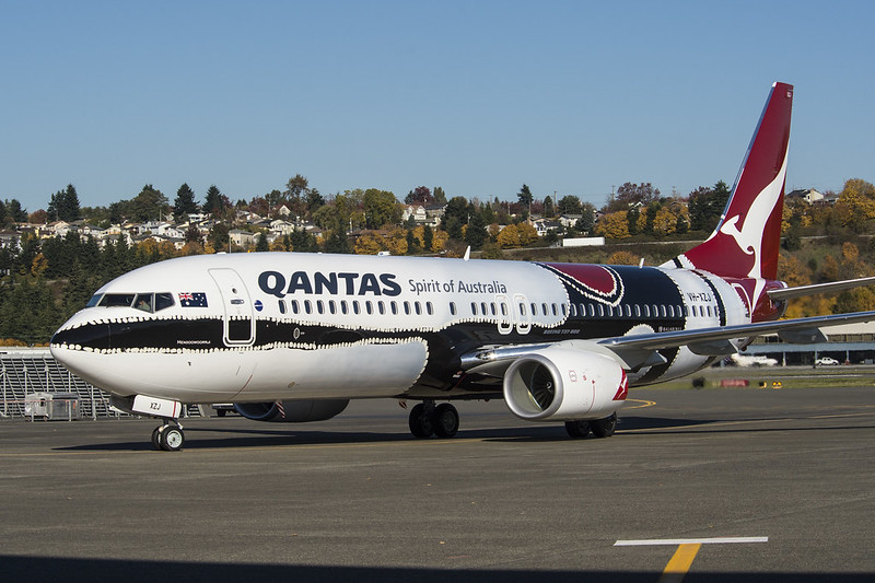 Qantas indigienous liveries