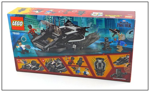 LEGO Marvel Super Heroes Black Panther 76099 & 76100 box 04
