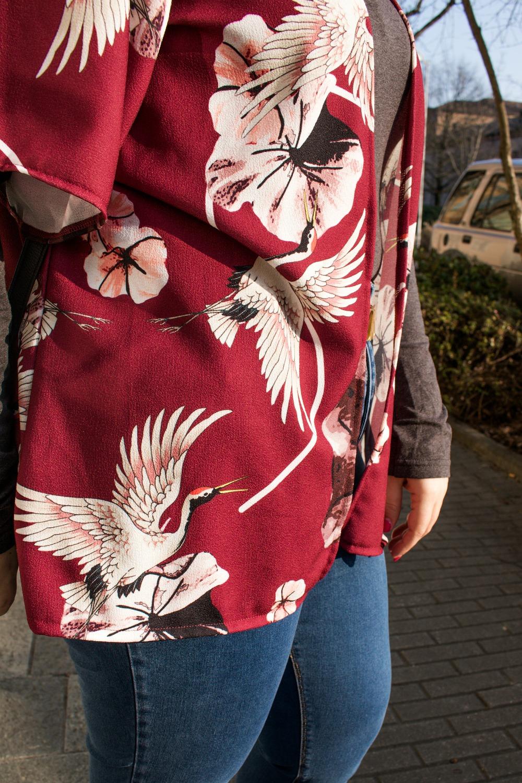 Outfit plus size, kimono Come le ciliegie  (2)