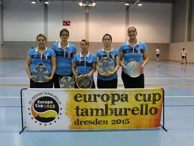 Copa Europa Tamborí Indoor 2015
