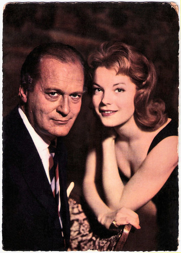 Curd Jürgens and Romy Schneider in Katia (1959)