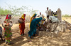 Although the people of the Thar are no stranger to the harsh realities of water scarcity, the extended drought conditions have drastically worsened the situation. The sharp reduction of rainfall has caused wells to dry up or hampered their capacity to refill.   As a result, communities have to wait longer for the wells to fill up or travel long distances to fetch water from far-flung sources.   © 2018 Concern Worldwide. All rights reserved. Licensed to the European Union under conditions.