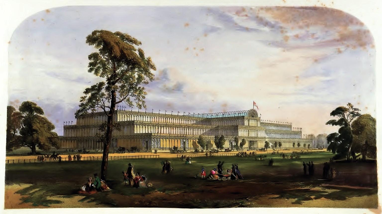 Crystal Palace litho1852